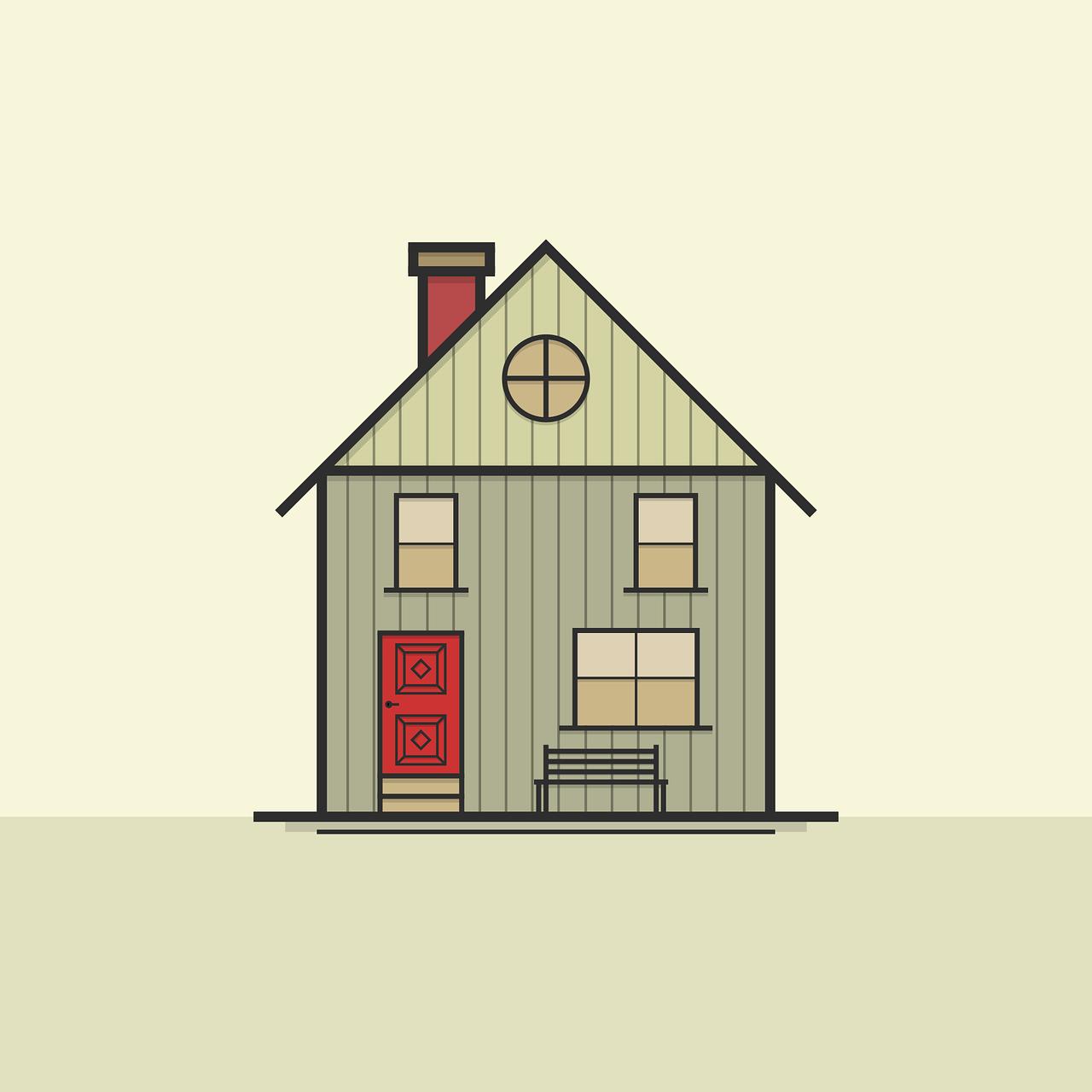 house, icon, symbol