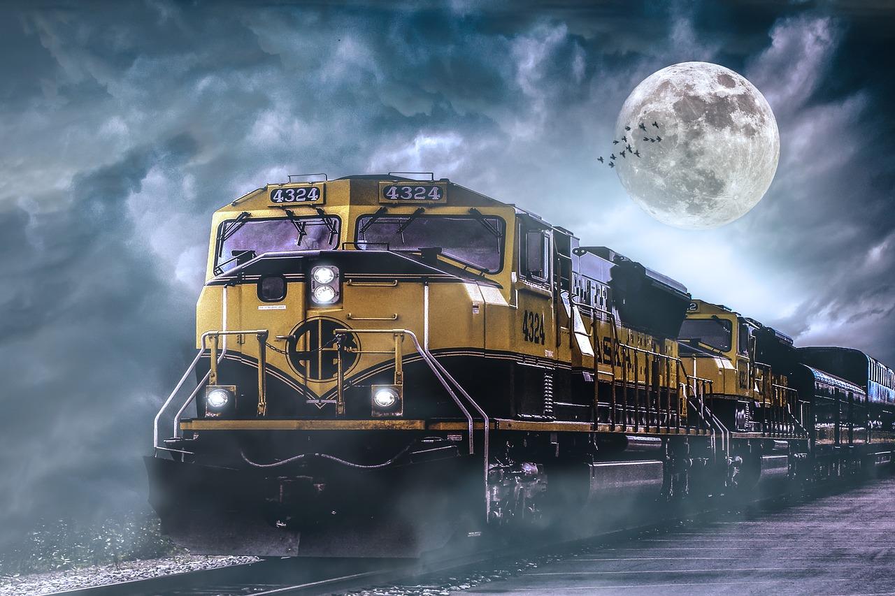 locomotive, railway, loco