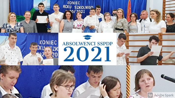 Absolwenci szkoły przysposabiającej do pracy 2021